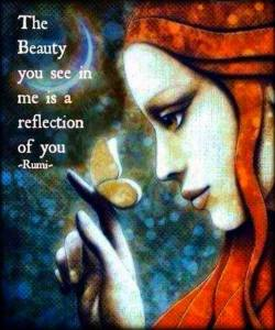 the beauty you see in me